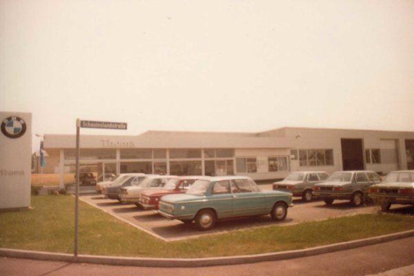 1980-Gebrauchtwagen-Platz